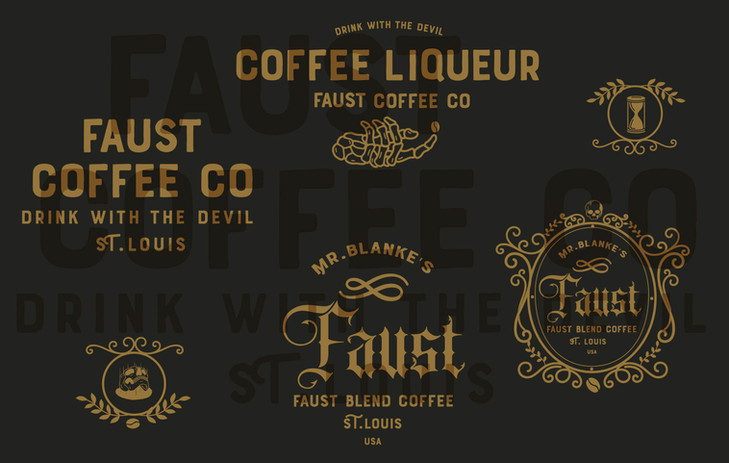 Faust Coffee Labels
