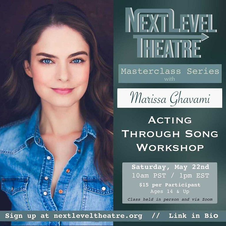 Acting Through Song with Marissa Ghavami