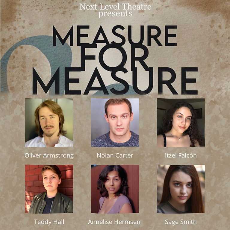 Measure for Measure Livestream