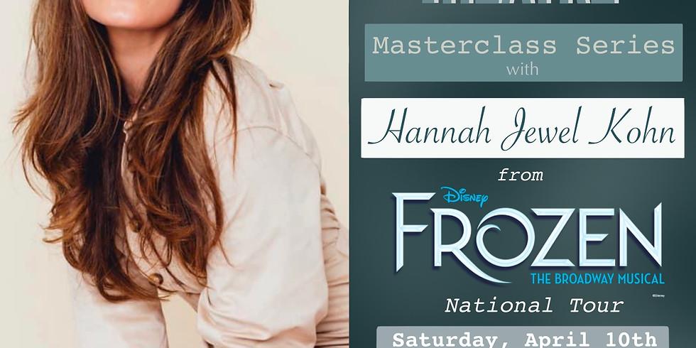 Hannah Jewel Kohn Masterclass
