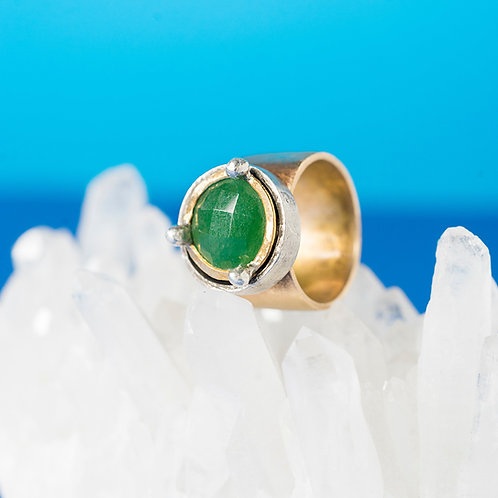 CORONA | Ring | Bronze - Indian Jade