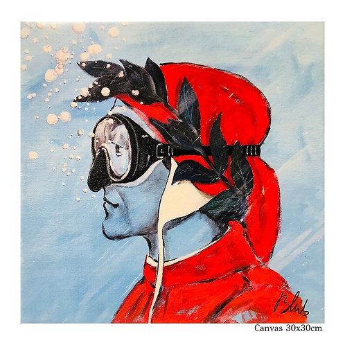 BLUB   Dante   on Canvas (S)