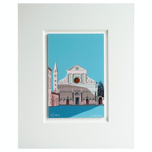 Basilica of Santa Maria Novella | Florence | Fine Art print