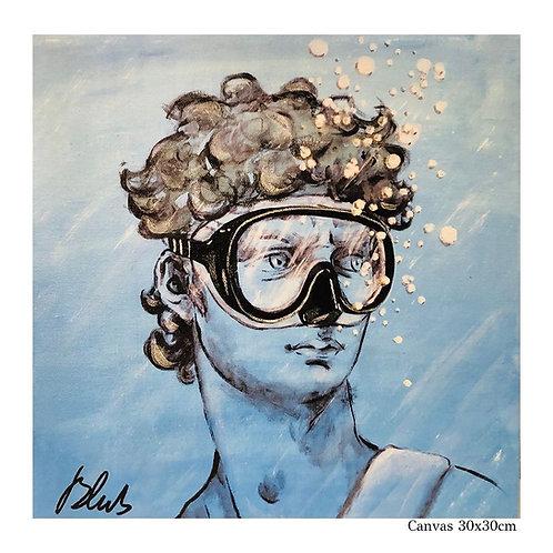 BLUB | I David | on Canvas (S)