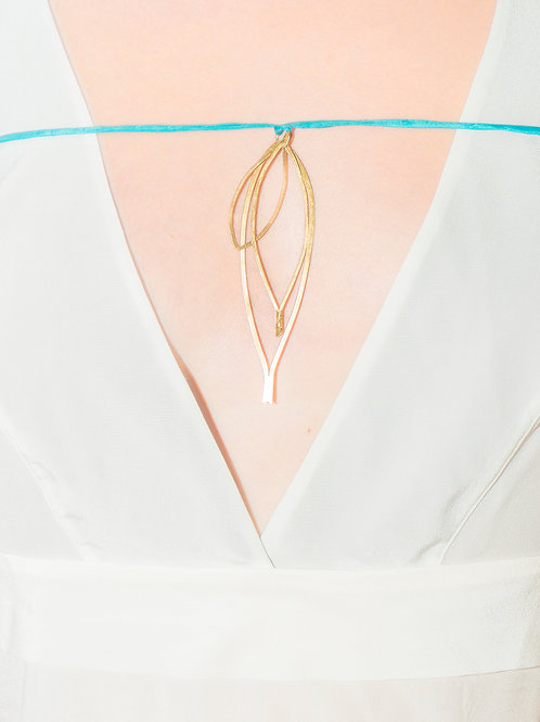 3 in 1| Pendent | Silver gold plated