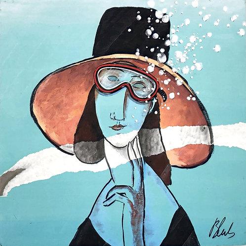 BLUB | Modigliani | Print hand-touched