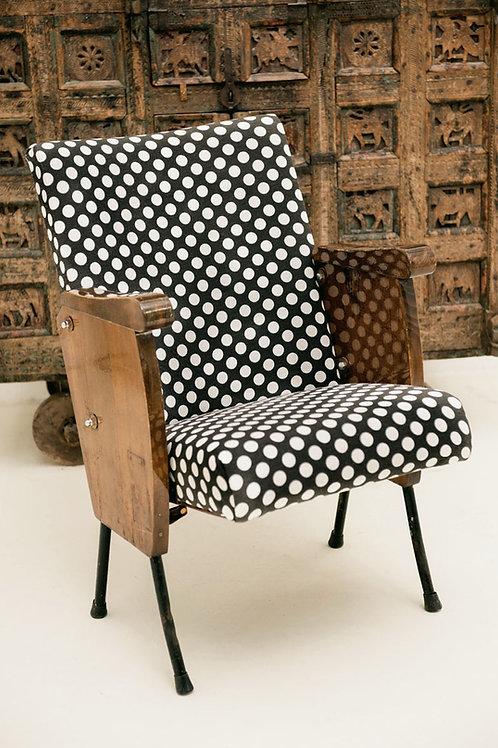Vintage Cinema Chair Handpainted
