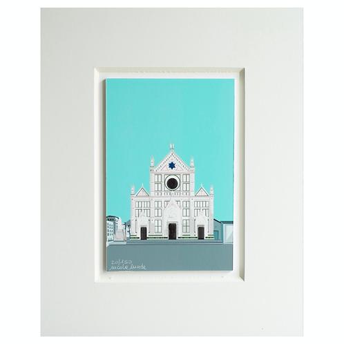 Basilica of Santa Croce | Florence | Fine Art Print