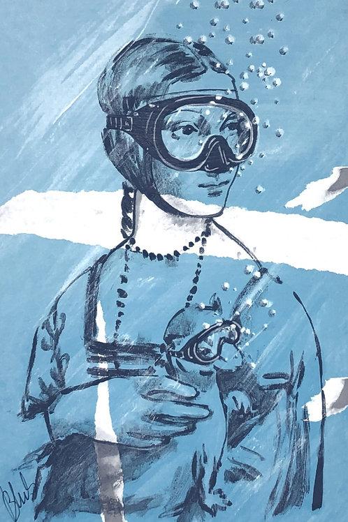 BLUB | Lady with an Ermine | da Vinci