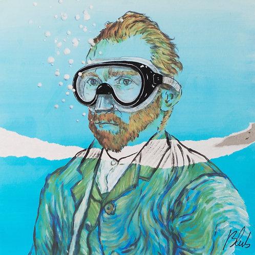 BLUB | Van Gogh | on canvas