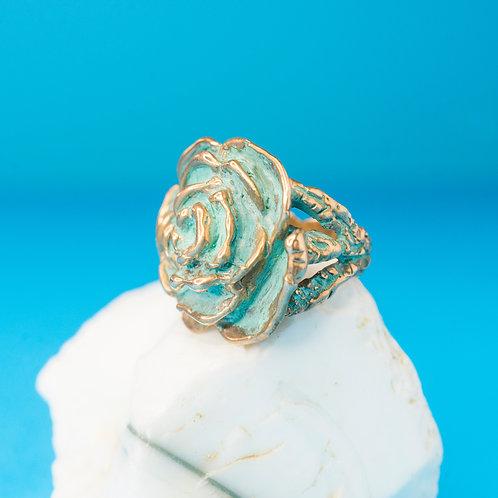 ROSE | Ring | Bronze