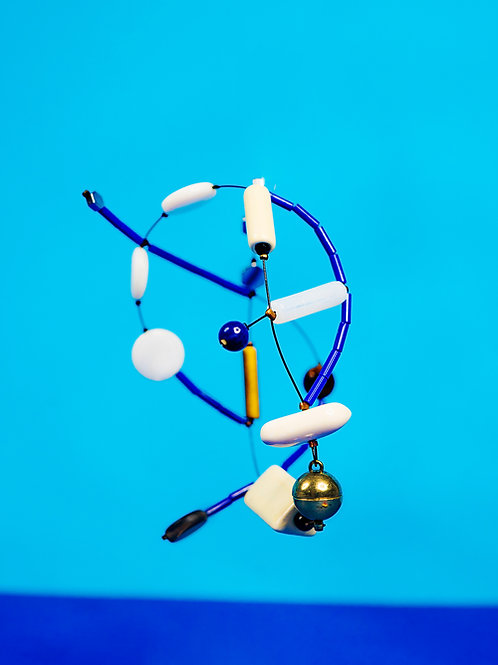 Creative Art Wear | Bracelet | Blue/White