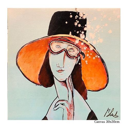 BLUB   Modigliani   on Canvas (S)