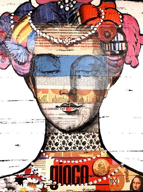 CARLA BRU | Matelda | original su legno