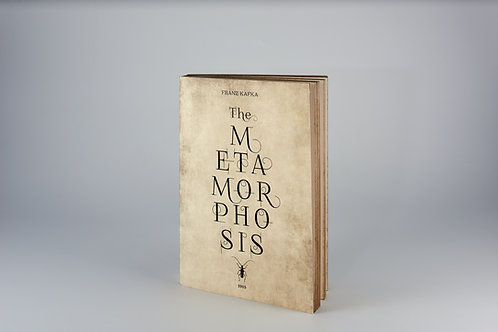 METAMORPHOSIS | handbound Notebook