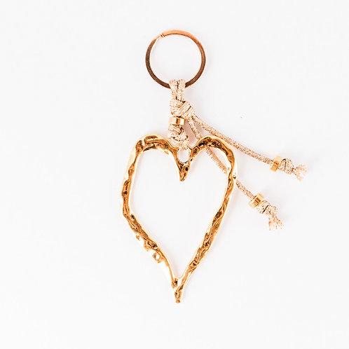 KEYHOLDER | Heart | gold