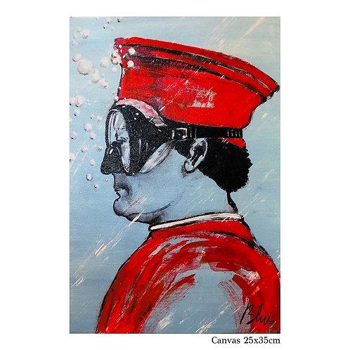 BLUB | Federico da Montefeltro  | on Canvas (S)