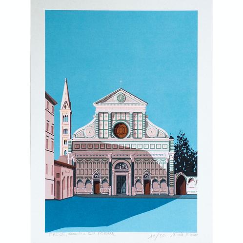 Basilica of Santa Maria Novella | Florence | A4