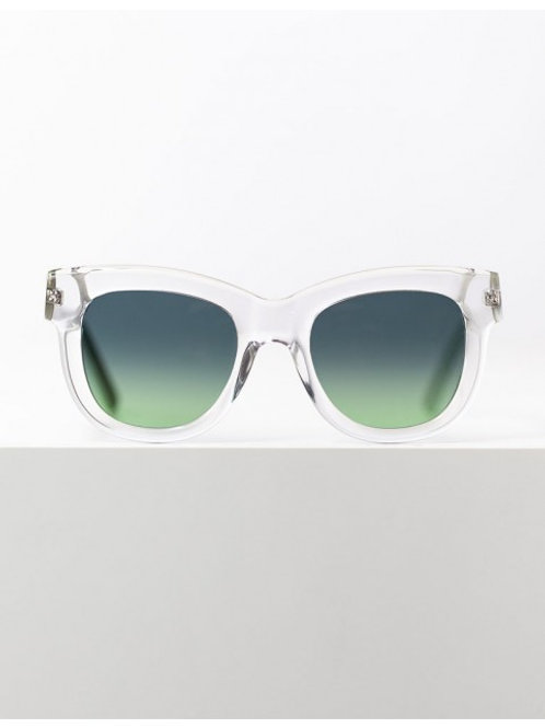 FIORE | Transparent and Mint | Green