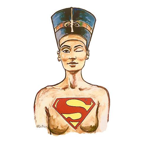 LEDIESIS   Murales   Nefertiti