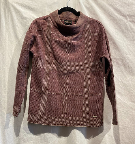 Barbour Plaid Sweater