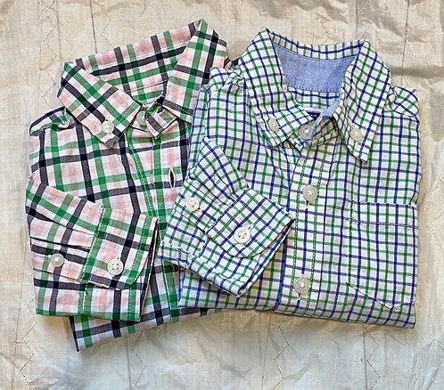 Janie & Jack Buttondowns