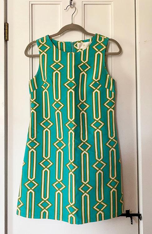 Julie Brown Geometric Dress