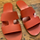 Thumbnail: Everlane Red Leather Sandals   9