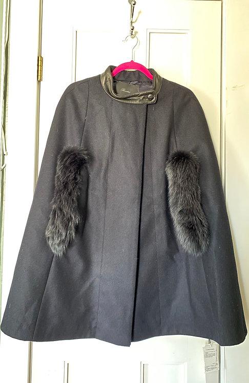 Rawtus Cape w/ Fur Trim
