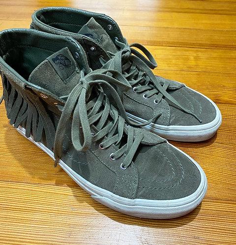 Vans High Top Fringe Sneakers
