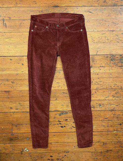 Hudson Velvet Pants