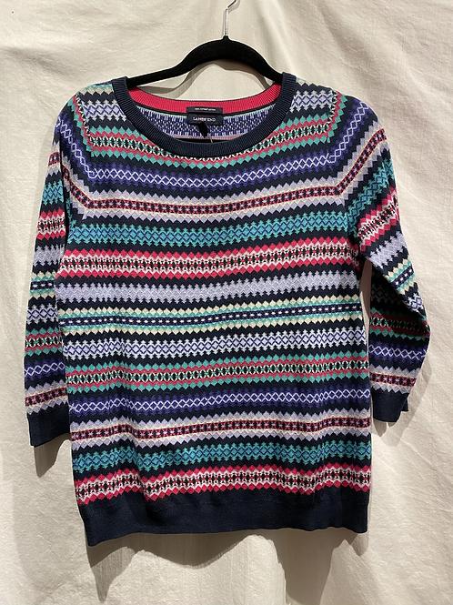 Talbots Printed Sweater