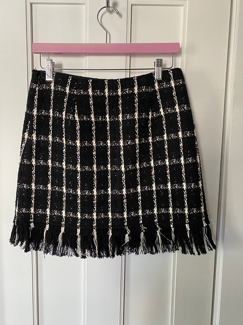 Theory Tweed Skirt