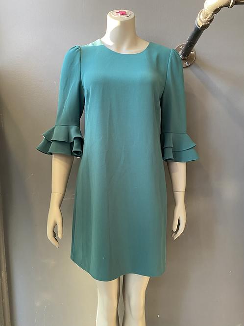 DVF West Ruffle Sleeve Dress