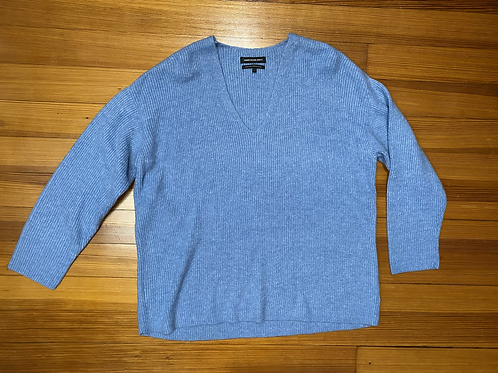 Something Navy Slouchy Sweaters