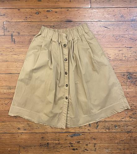 J.Crew Camel Midi Skirt