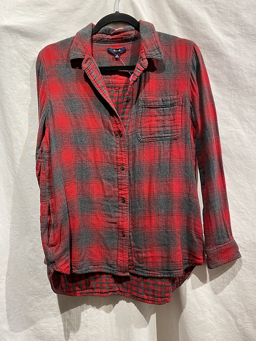 Madewell Flannel Button Up
