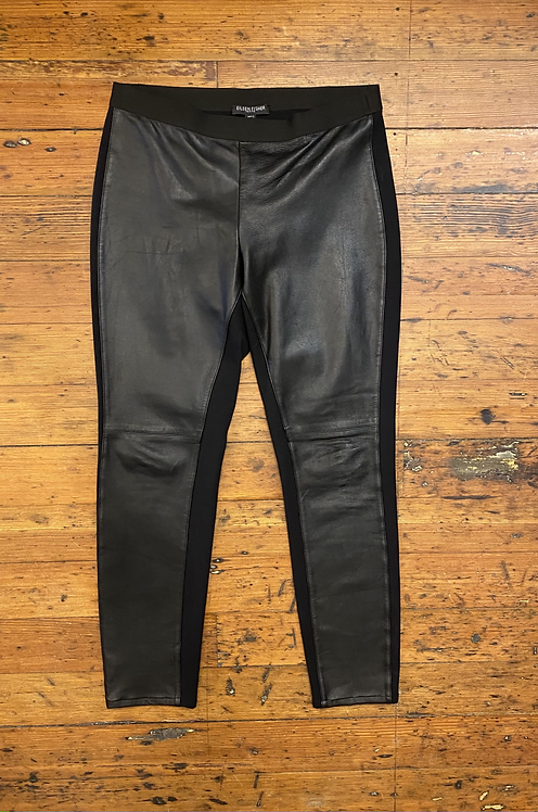 Eileen Fisher Leather Front Legging