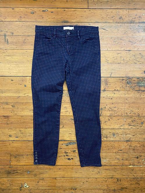 Tory Burch Micro Print Jeans