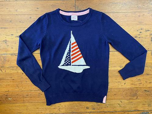Pink Pineapple Sailboat Sweater