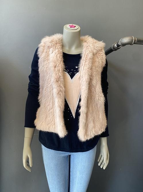 Bagatelle Rabbit Fur Vest