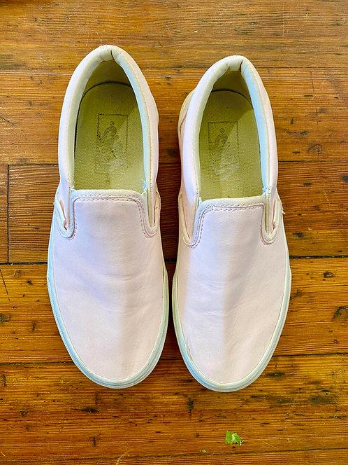 Vans Leather Slip-Ons