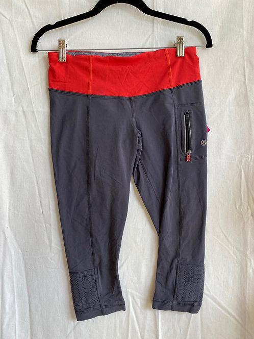 lululemon Gray Crop Leggings