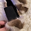 Thumbnail: Mink Velvet Lined Velcro Headband