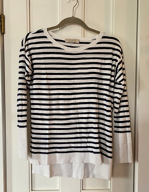 Loft Striped Light Knit