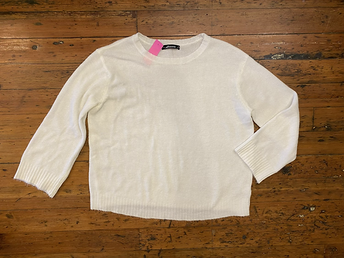 Olivaceous Boxy Sweater
