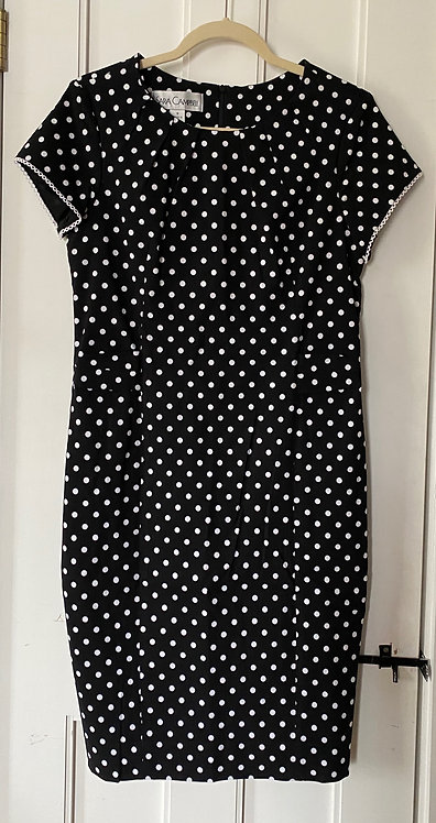 Sara Campbell Polka Dot Sheath