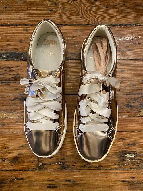 Kate Spade Metallic Sneakers