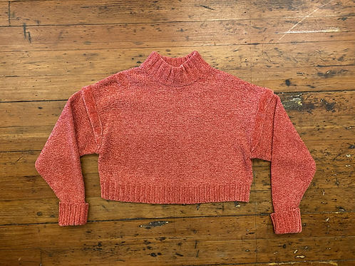 Urban Outfitters Crop Chenille Sweater
