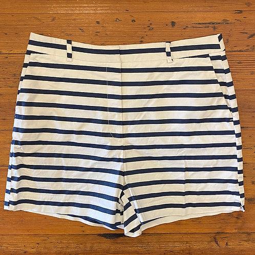 Zara Stripe Sailor Shorts